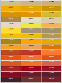 RAL Farbe