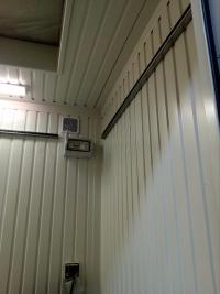 Technologischer Container mit Doppelboden