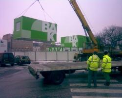 Baustelle Einrichtungen - Trutnov, CZ